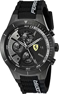 Ferrari Sport Watch For Men Analog Silicone - 830262