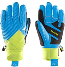 Zanier Unisex – volwassenen 21068-7745-7 handschoenen, limoen, turquoise, 7