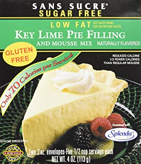 Sans Sucre Key Lime Pie Filling and Mousse Mix - Gluten Free