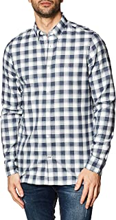 Tommy Hilfiger Slim Brushed Heather Check Shirt Camisa para Hombre