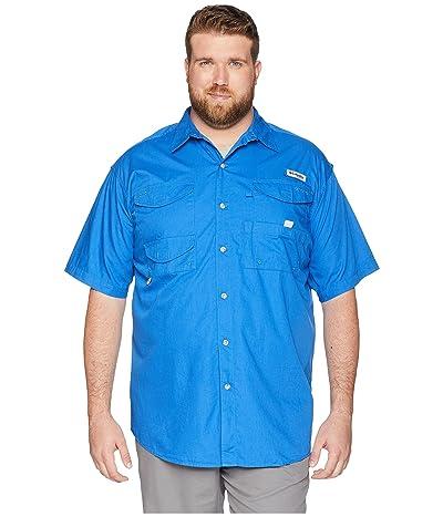 Columbia Big Tall Bonehead S/S Shirt (Vivid Blue) Men