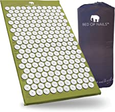 Bed of Nails, Green Original Acupressure Mat for Back/Body