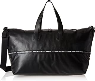 soft leather holdall