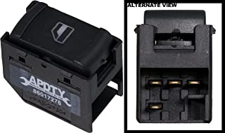 APDTY 012613 Power Window Switch Single 1 Button Fits Front Right or Rear Left or Rear Right On 2005 VW Bora 1999-2006 Golf 1999-2006 Jetta 1998-2005 VW Passat (Replaces 3BO 959 855 B, 3B0959855B01C)
