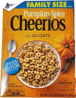 Pumpkin Spice Cheerios (Family Size)