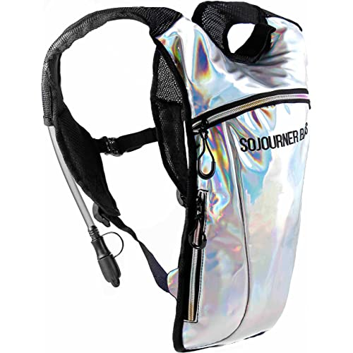 Sojourner Rave Hydration Pack Backpack - 2L Water Bladder Included for Festivals, Raves, Hiking