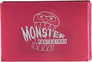 Monster Protectors Trading Card Double Deck Box with Magnetic Closure - Pink (Fits Yugioh, Pokemon, Magic the Gathering Ca...
