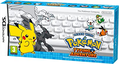 Learn With Pokemon: Typing Adventure Ds (teclado + Jogo)