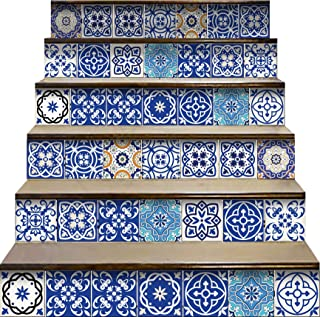 Mi Alma Peel and Stick Tile Backsplash Stair Riser Decals DIY Tile Decals Mexican..