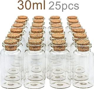 spezie bspw Set di 20/mini Biberon 5/ml in vetro con tappo in sughero per decorazione /marca Ganzoo per conservare piccole quantit/à o come bambole biberon/