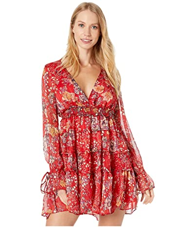 Free People Closer To The Heart Mini (Red) Women
