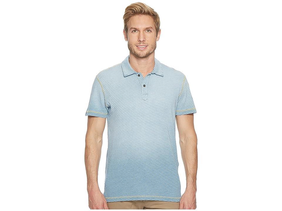 Agave Denim Kirra Short Sleeve Polo (10 Year Fade) Men