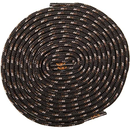 Merrell Laces For Boots and Shoes - Genuine Merrell Laces (122 cm, Black Brown Grey)