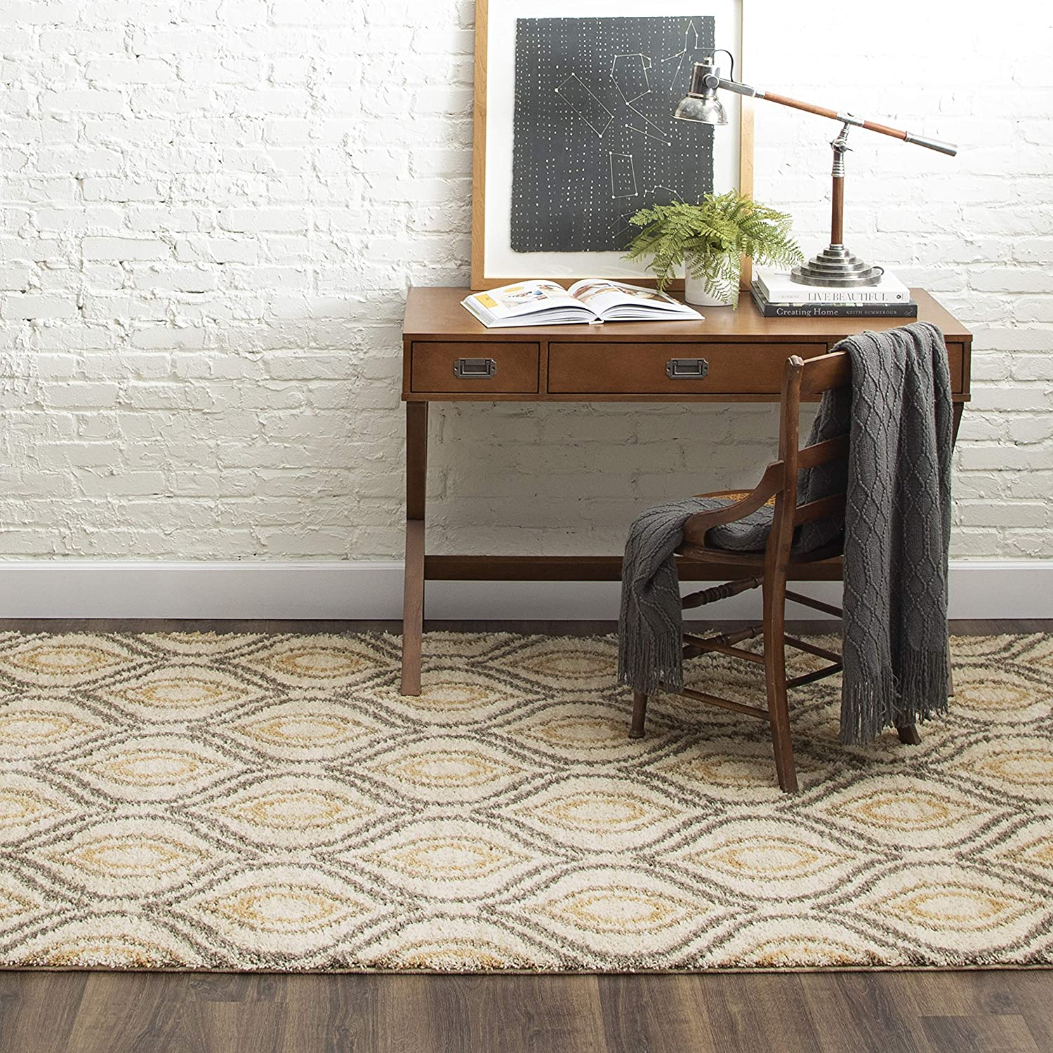 Mohawk Free shipping anywhere in the nation Home Ogee Waters Rug Area 5'x8' 2021new shipping free shipping