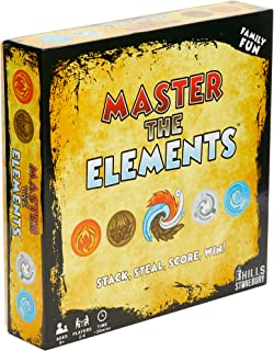 Master The Elements - Family Party Board Game of Strategy and Chance Where 2 to 6 Players Compete to Outwit Their Opponents.