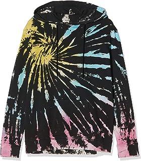 Urban Classics Kapuzenpullover Ladies Tie Dye Hoody Felpa con Cappuccio, Nero, 4XL Donna