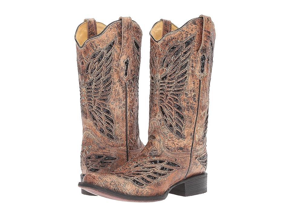 Corral Boots R1226 (Black/Bronze) Women