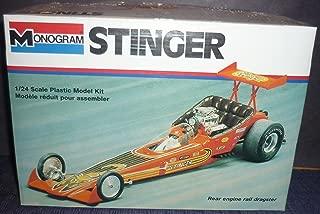 #2809 Monogram Stinger Rear Engine Rail Dragster 1/24 Scale Plastic Model Kit