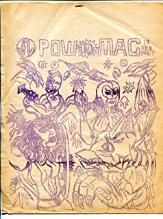 Power-Mac #13 1967-Crude original-comics-6 pages-mimeo-FR