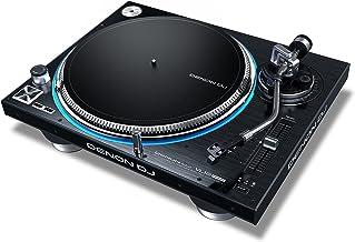 Denon DJ VL12 PRIME | Professional Turntable with True Quartz Lock & RGB LED Light Ring,BLACK
