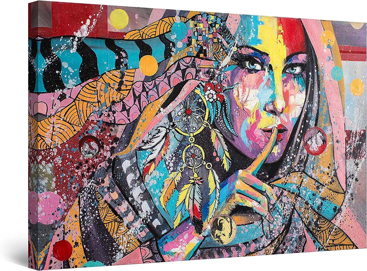 Startonight Canvas Wall Art Abstract Colored 数量は多 Collection 店内全品対象 - Jolie