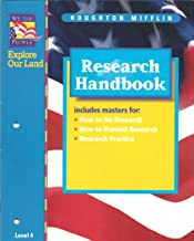 Research Handbook (We The People - Explore Our Land)
