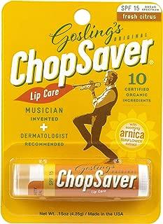 Goslings Original ChopSaver SPF 15 Lip Care, 0.15 Oz (Pack of 6)
