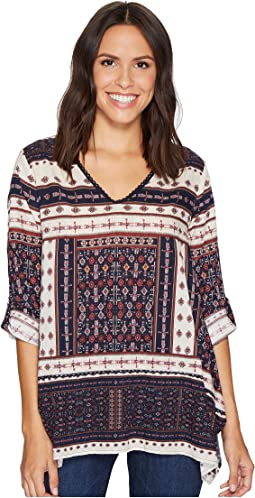 Dylan by True Grit - Recycled Cotton Prints Cassidy Tunic