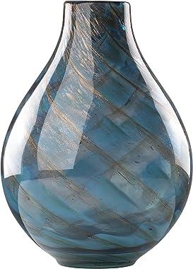Lenox Seaview Swirl Bottle Vase - 845435