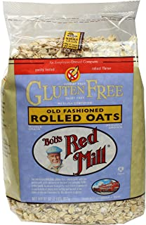 Bob's Red Mill Gluten Free Old Fashioned Rolled Oats, 32 Ounce (Pack of 4)