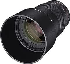 Samyang 135mm f/2.0 ED UMC Telephoto Lens for Fuji X Mount Interchangeable Lens Cameras