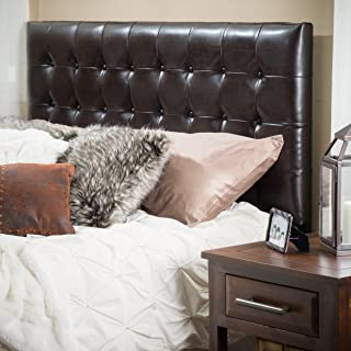 Christopher Knight Home Tufted Headboard, King/Cal, Brown
