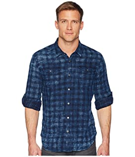 Long Sleeve Roll-Up Sportshirt with Chest Pockets W536U1B