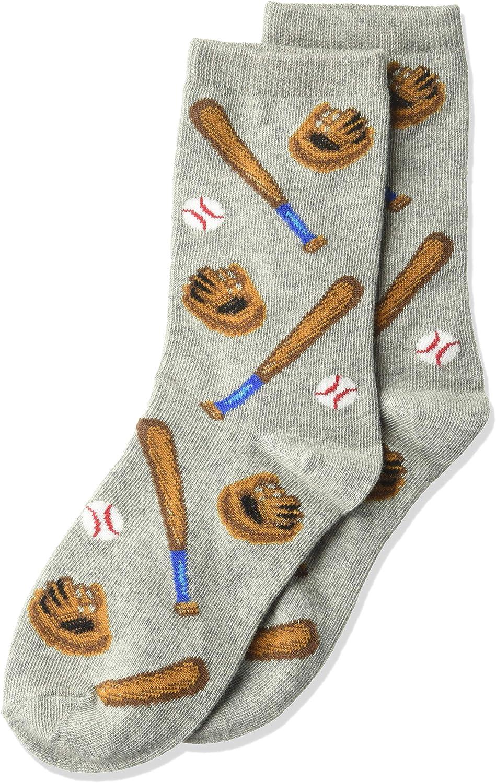 Hot Sox boys Sports Series Novelty Casual Crew Socks