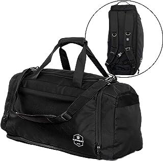 Bearformance® Ultimate Sportbag   Sporttasche mit Schuhfach & Nassfach mit Rucksackfunktion für Herren & Damen für Sport, ...
