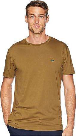 Short Sleeve Pima Crew Neck T-Shirt