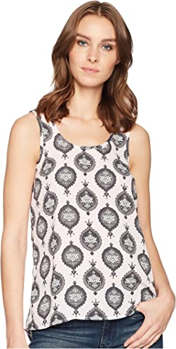 Printed Georgette Tank Top