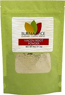 Pure Yacon Root Powder Natural Kosher Amazing Benefits : Natural Sweetener (4oz.)