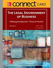 Connect Access Card for Legal Environment of Business, A Managerial Approach: Theory to Practice