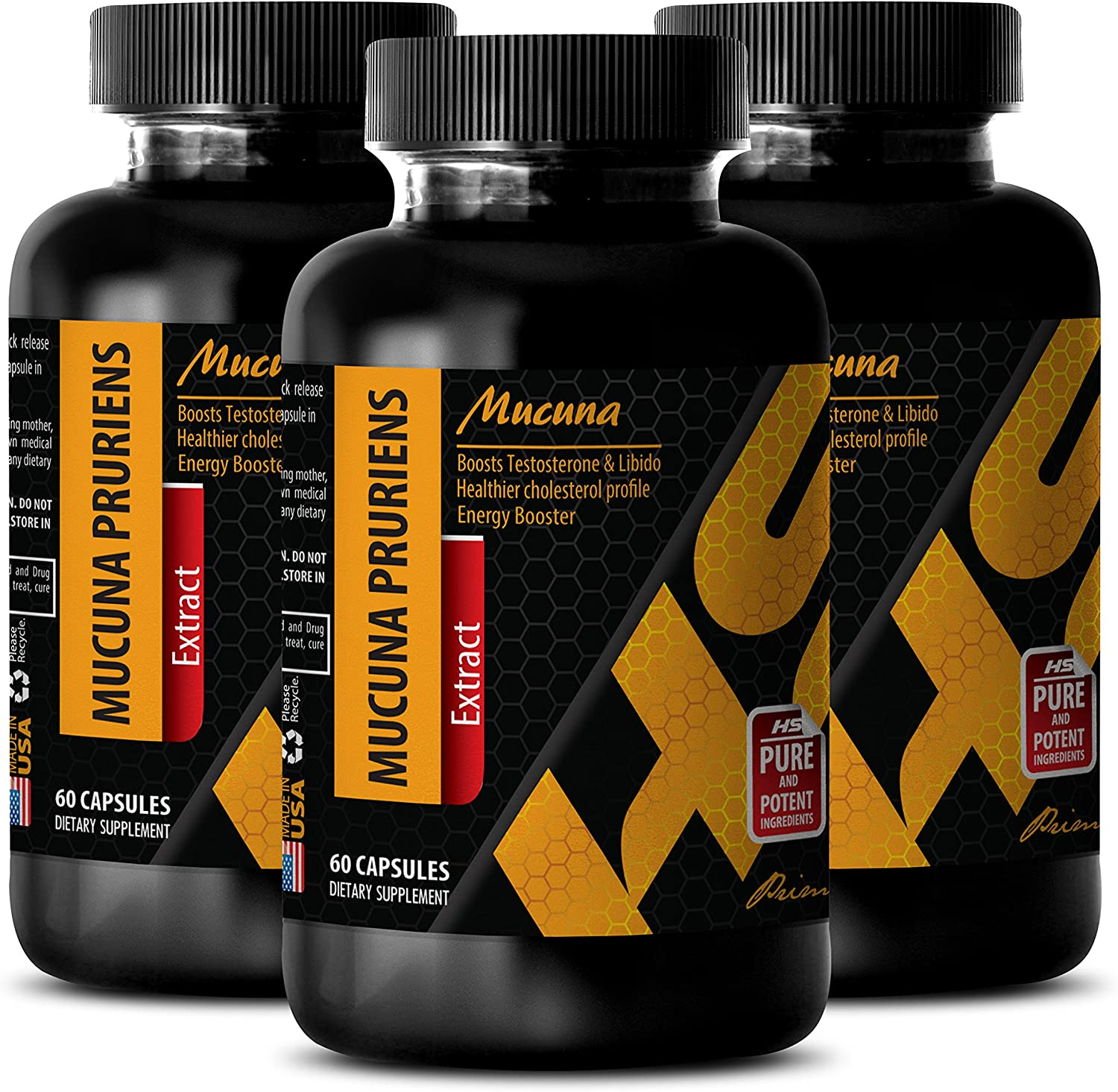 Herbal Las Vegas Mall libido Booster for Men Extract adapto MUCUNA PRURIENS Large-scale sale -