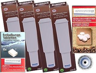 Human-Wellness 6/x Filtro Tinta aquac Rest para DeLonghi Productos 10/Lavado Stabs SER3017/DLS l50-c002/551329811/