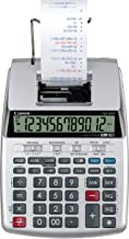 Canon P23-DHV-3 Printing Calculator with Double Check Function, Tax Calculation and..