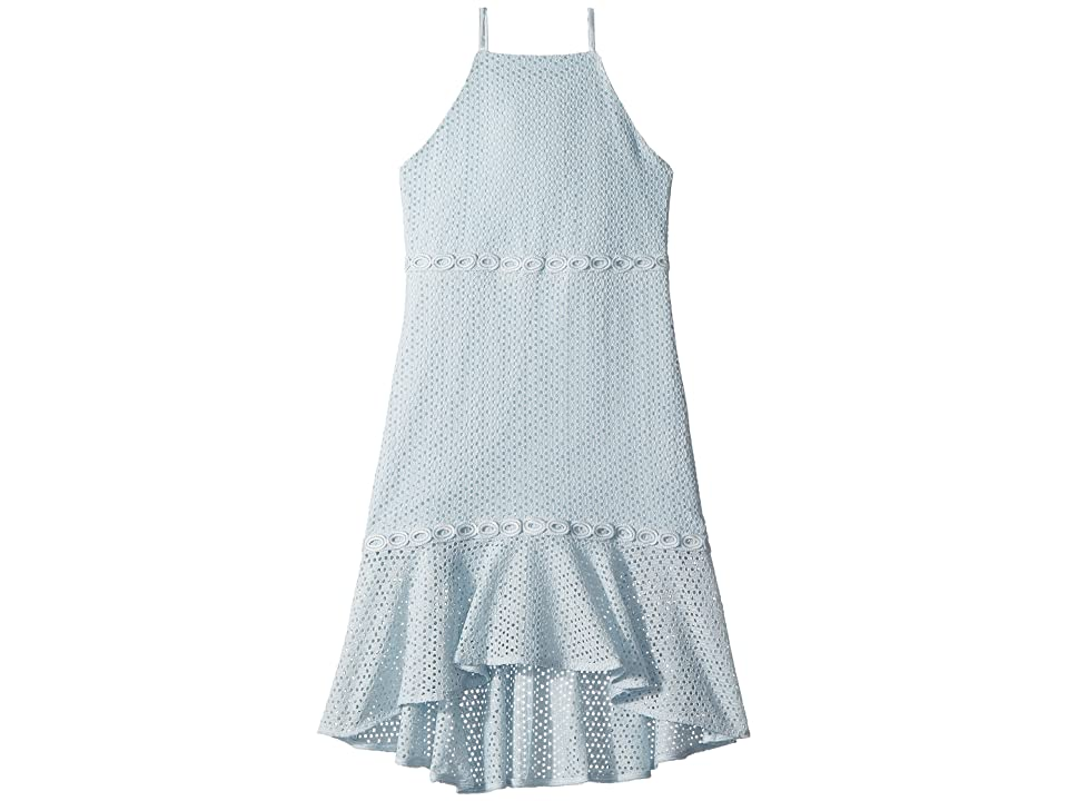 Bardot Junior Ariana Dress (Big Kids) (Illusion Blue) Girl s Dress 29c6e66d9