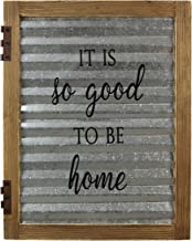 "Young's 20"" x 1"" x 15.75"" Inc Wood Good to Be Home Sign"