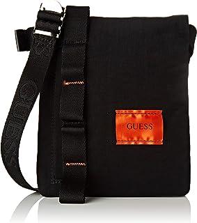 Guess - Sailor, Shoppers y bolsos de hombro Hombre, Negro (Black), 2x20x17 cm (W x H L)