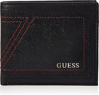 Guess Mens Global Wallet With Coin Holder