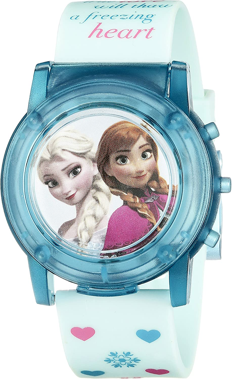 Disney Max 62% OFF Kids' FZN3821SR Popular Digital Display Watch Blue Analog Quartz