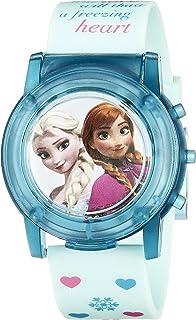 ديزني ساعة اطفال بنات رقمي بلاستيك - FZN3821SR