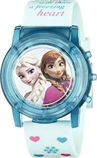 Disney Kids' FZN3821SR Digital Display Analog Quartz Blue Watch