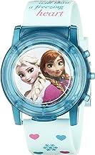 Disney Kids` FZN3821SR Digital Display Analog Quartz Blue Watch